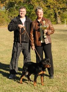 2008 SCRS Best Male Puppy: Gir's Kas von Warterr